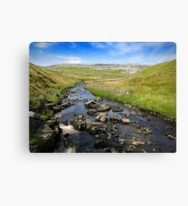 Yorkshire River Canvas Print