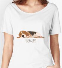 Beagles Women's Relaxed Fit T-Shirt