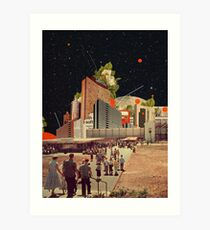 Software Road Art Print