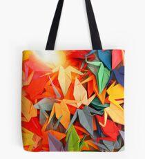 Senbazuru | Rainbow Tote Bag