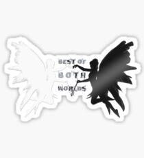 Best of Both Worlds Sticker