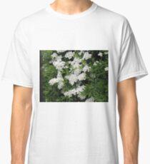 Pretty White Spirea Blossoms Classic T-Shirt