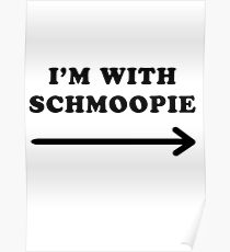 Gillian anderson im with schmoopie Poster