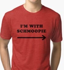 Gillian anderson im with schmoopie Tri-blend T-Shirt