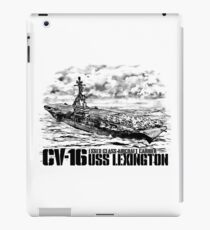 Aircraft carrier Lexington iPad Case/Skin
