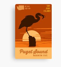 Puget Sound. Canvas Print