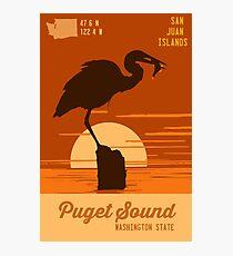 Puget Sound. Photographic Print