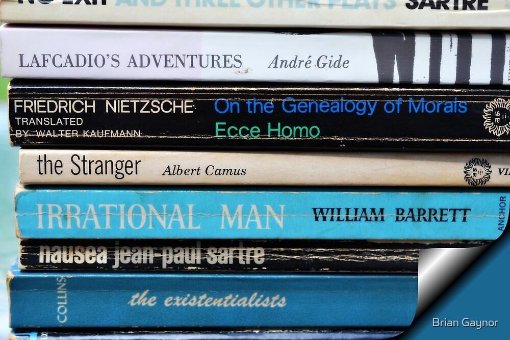 Existentialist Beach Reading by Brian Gaynor