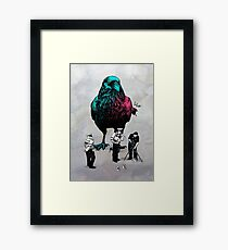 Rooking For Clues Framed Print