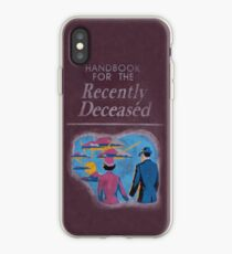 Handbook for the recently deceased iPhone Case