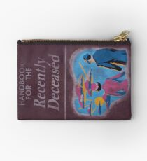 Handbook for the recently deceased Studio Pouch