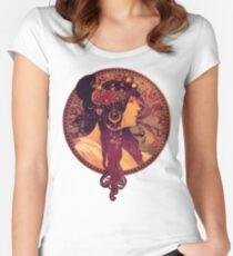 Mucha - Donna Orechini Women's Fitted Scoop T-Shirt
