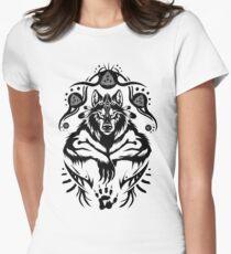 Shamanic Werewolf Womens Fitted T-Shirt