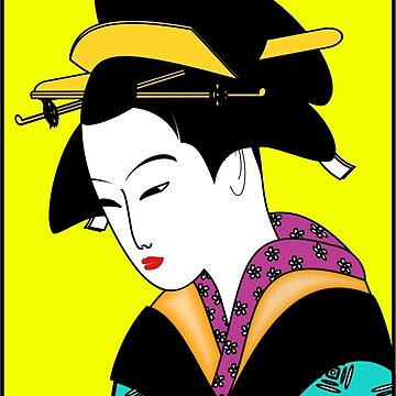 Lady in a Kimono by SuperPayce