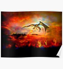 Dracarys - Burn them all! 2 Poster