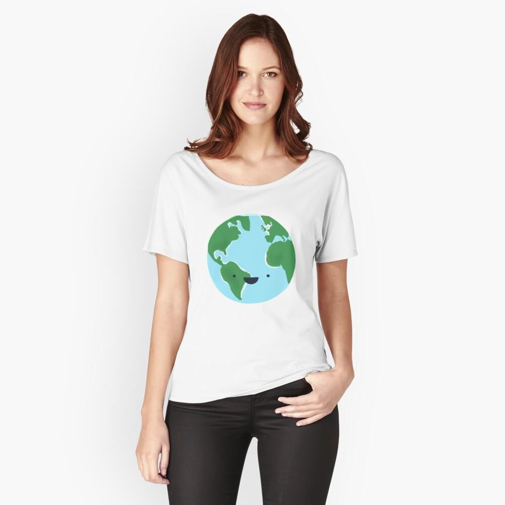 Die Erde ist unser Zuhause Loose Fit T-Shirt