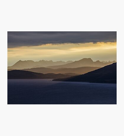 Isle of Skye Sunset Photographic Print