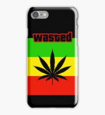 Wasted (Smoke weed) iPhone Case/Skin