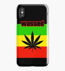 Wasted (Smoke weed) iPhone Case