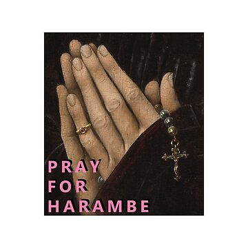 Pray for Harambe by CXM0D