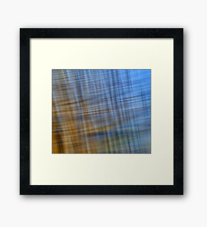 Pacific Ocean Blues #4 Framed Print