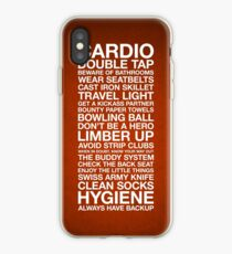 Zombieland — The Rules iPhone Case