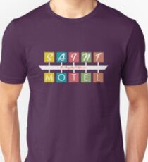 Retro Motel Sign Unisex T-Shirt