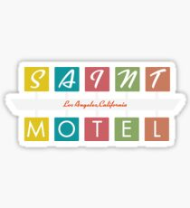 Retro Motel Sign Sticker