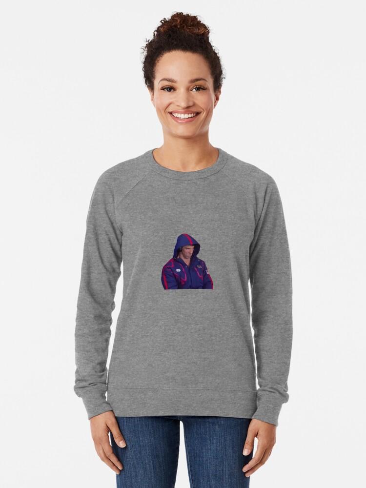 Alternative Ansicht von Phelps Meme Leichtes Sweatshirt