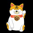 Japanese Waving Cat by Laura-Lise Wong