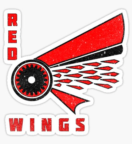 Wings For Charity! Sticker