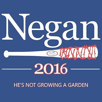 Negan 2016 (The Walking Dead) by nick1213mc