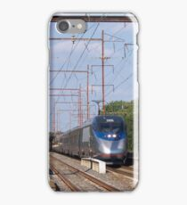Amtrak Acela 2006 and Septa Local Train iPhone Case/Skin