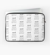 Nerd Definition Laptop Sleeve