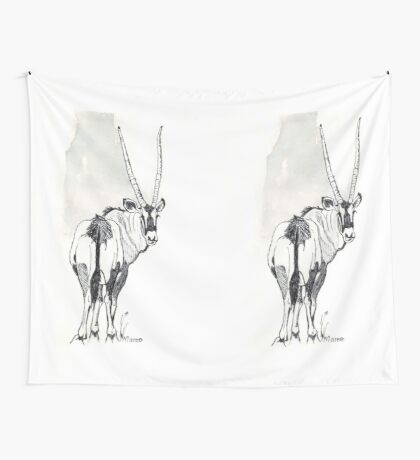Typical of the Gemsbok Wall Tapestry