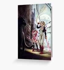 The Moon Princess is back Greeting Card