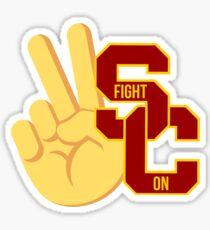 USC Fight On Sticker