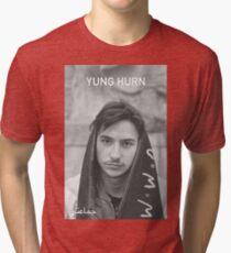 Yung Hurn Portait Tri-blend T-Shirt