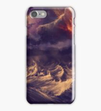 Stormy ocean iPhone Case/Skin