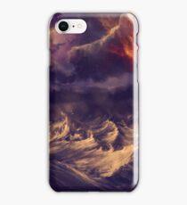 Stormy ocean iPhone Case/Skin