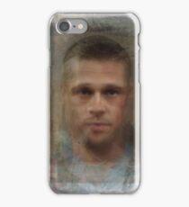 Tyler Durden Brad Pitt Fight Club  iPhone Case/Skin