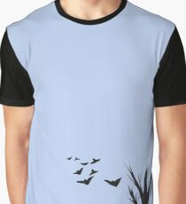 An October Night Graphic T-Shirt