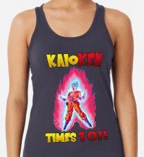 Camiseta de tirantes para mujer Goku Super Saiyan Blue Kaioken TImes 10 057e24ed3963b
