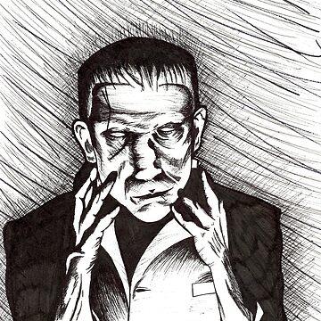 Frankenstein by drogelart
