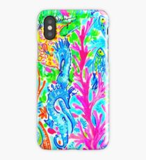 Lilly Pulitzer Delaware State Inspired  iPhone Case/Skin