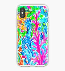 Lilly Pulitzer Delaware State Inspired  iPhone Case