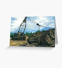 heavy armoured recovery Greeting Card