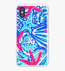 Lilly Pulitzer Wisconsin State Inspired  iPhone Case/Skin