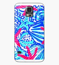 Lilly Pulitzer Wisconsin State Inspired  Case/Skin for Samsung Galaxy