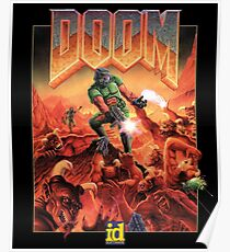 DOOM CLASSIC COVER Poster